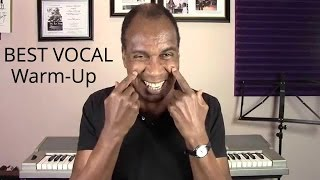 Best Vocal Warmup - Quick Vocal Warmup - Roger Burnley Voice Studio - Singing Voice Lesson