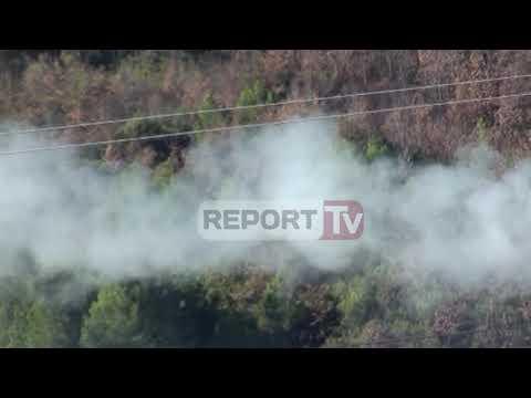 Report Tv- Fabrika e asfaltobetonit në Rubik ndot mjedisin