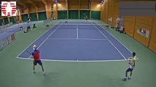Štěpánek Vejvara vs  Poljak Lootsma 9 11 2017 ITF Futures Milovice   muži