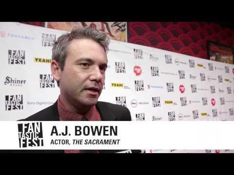 """Fantastic Fest 2013 - """"The Sacrament"""" US Premiere - AJ Bowen & Ti West Interview"""
