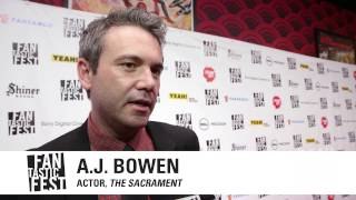 "Fantastic Fest 2013 - ""The Sacrament"" US Premiere - AJ Bowen & Ti West Interview"