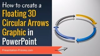 Create Floating 3D Circular Arrows Graphic in PowerPoint