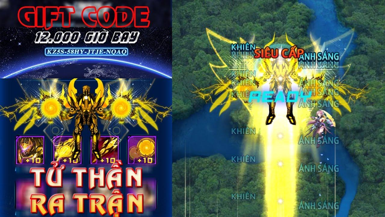Chiến Cơ Huyền Thoại – Siêu Chiến Cơ Tử Thần Vàng Ra Trận, Nhận Ngay Gift Code 12.000 Giờ Bay