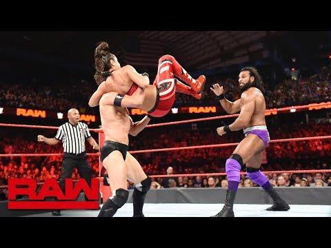 Finn Bálor & Bayley vs. Jinder Mahal & Alicia Fox: Raw, Oct. 8, 2018