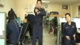 Uniformed Korean Dancing to Nobody