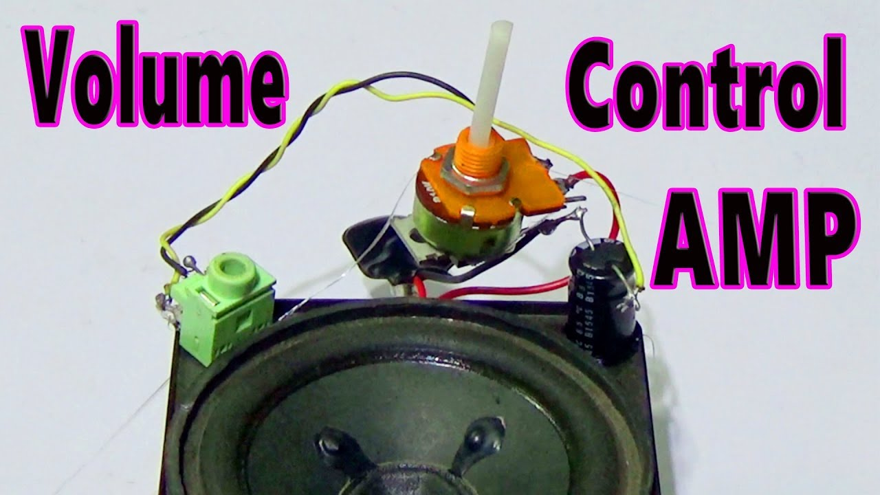 Headphone Loudness Controller Circuit Making Easy Circuits