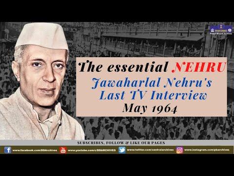 Jawaharlal Nehru's last TV Interview - May 1964