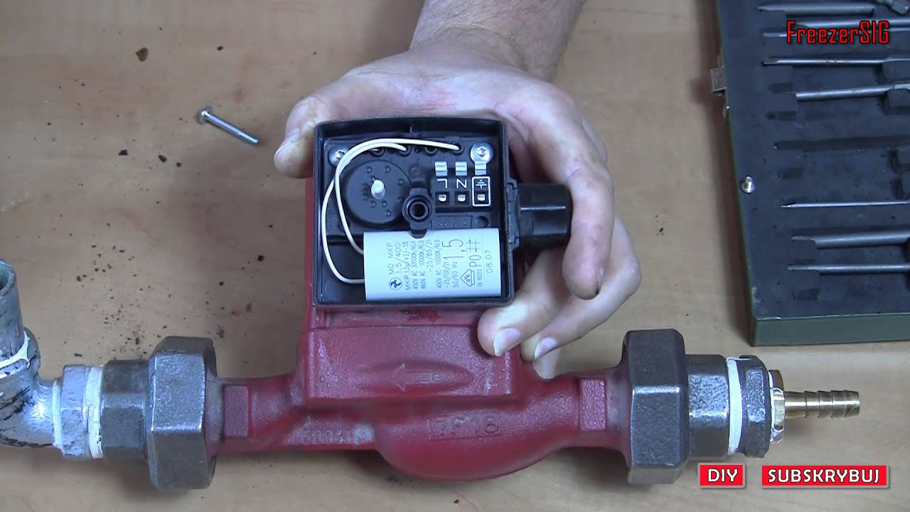 Capicitor wiring for a grundfos ch pump will normally be a wire link between 1 2 so you cap goes into the last hole at the other end and one after the hold adjacent to the link cheapraybanclubmaster Image collections