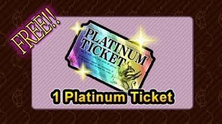The Battle Cats - FREE PLATINUM TICKET OPENING