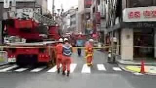 渋谷温泉爆発 #5 上空ヘリ Tokyo spa explosion シエスパ 検索動画 20