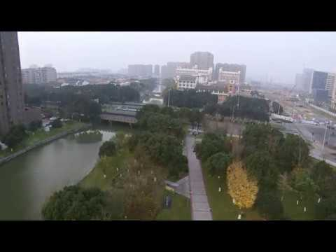 Xiaomi drone flight test , raw footage ( Ningbo China )