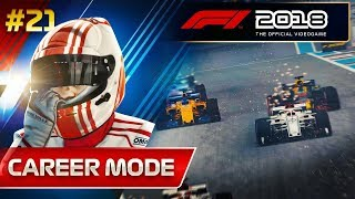 F1 2018 Career Mode Part 21: THREE WAY TITLE DECIDER