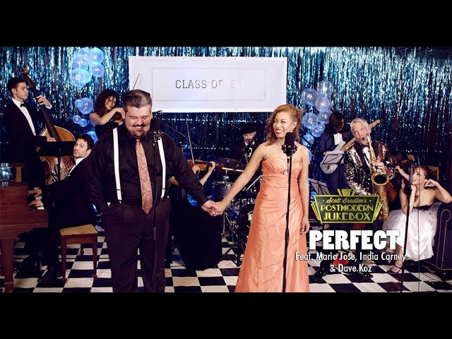 Perfect Duet - Ed Sheeran & Beyonce (50s Prom Cover) ft. Mario Jose, India Carney & Dave Koz