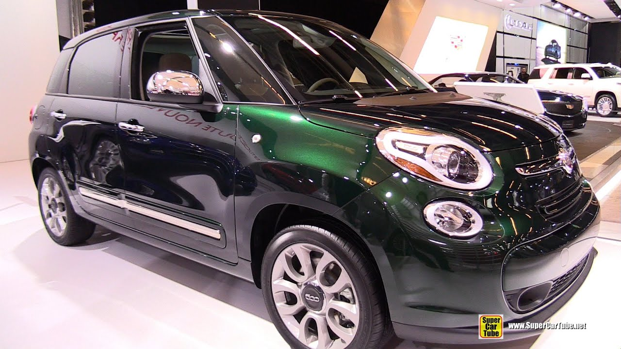 2015 fiat 500l lounge exterior and interior walkaround 2015 montreal auto show youtube. Black Bedroom Furniture Sets. Home Design Ideas