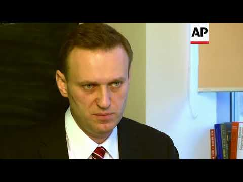 ONLY ON AP: Navalny confident he could beat Putin in fair election