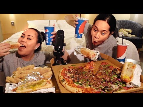 NICOLE AND SERA COSTCO MUKBANG | answering questions from subbies + shoutouts