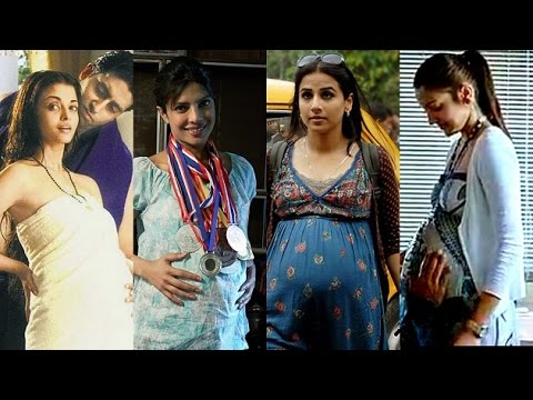 Thumbnail: Actresses who have flaunted baby bump in movies