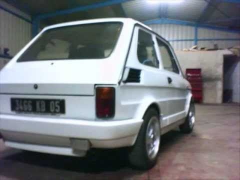 fiat 126 turbo 995cc abarth youtube. Black Bedroom Furniture Sets. Home Design Ideas