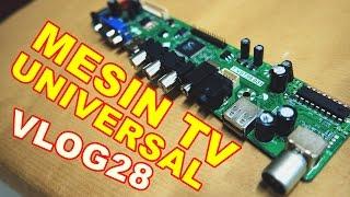 Cara Memasang Mesin TV LCD LED Universal VLOG28