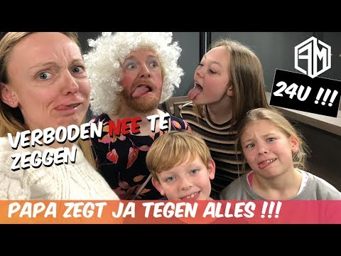 24u Zegt Papa Op Alles JA - Familie Meerschaert Vlog