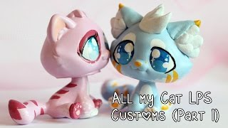 All my cat LPS Customs (Part 1)