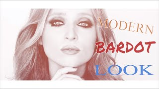 MODERN BARDOT LOOK I MAKEUP BY BORIS