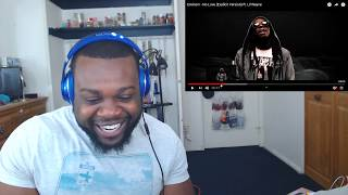 Gambar cover Eminem ft. Lil Wayne - No Love Explicit Version | Reaction