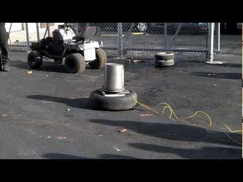 Ohio Hi Point ATC II Airbag Detonation Test. 12/5/2012