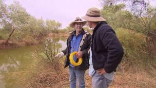 Lake Eyre Yellow Belly Fishing Australia 2011 .mov