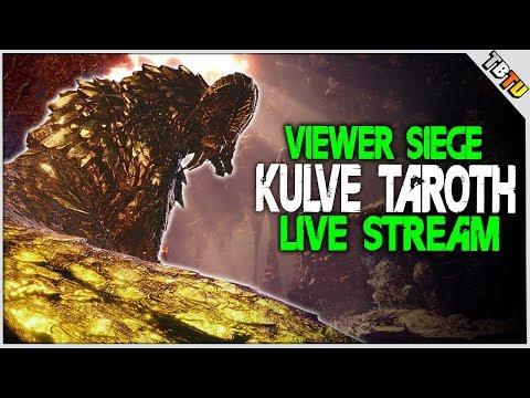 ✔️ KULVE TAROTH IS BACK! VIEWER KULVE SIEGE! Monster Hunter World Event Live Stream [PS4 Pro[