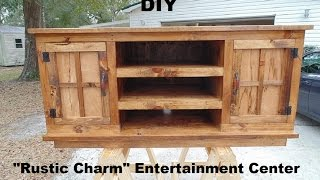 D.I.Y. Entertainment Center Build