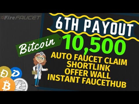 Fire Faucet Earn 10500 Satoshi With Payment Proof No Investment Need Auto Faucet