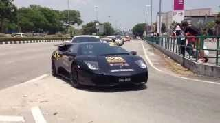 The Arrival of BJS, Exotic Car Club, Sarawak Supercar Club and MSOC at Marianis De Garden, Ipoh.