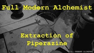 Extraction Of Piperazine