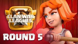 🔴  LIVE OFFICIEL Ligues de Guerre de Clans | One Hive Follow Clan War League | Jour 5