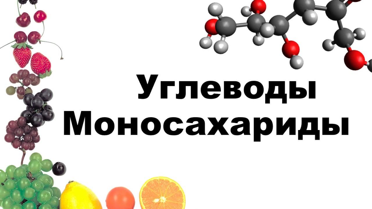 Углеводы. Моносахариды