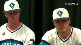UNCW Baseball Players Postgame - NCAA Regional South Carolina - (June 4, 2018)