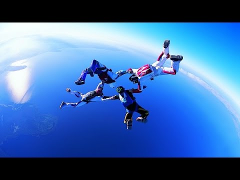 Inspirational Music Skydiving