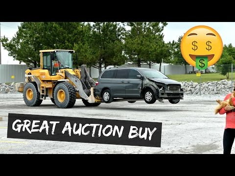 ANOTHER GREAT BUY FROM CAR AUCTION HONDA ODYSSEY | COPART AUCTION