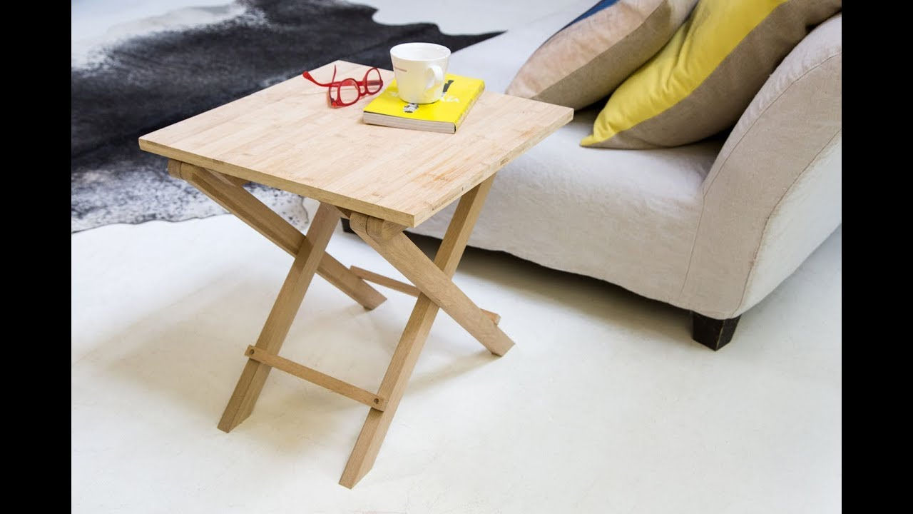 Comment Fabriquer La Table Pliante Bamboo Youtube