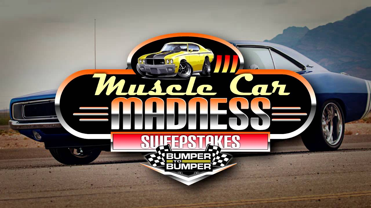 Muscle car madness sweepstakes and contests