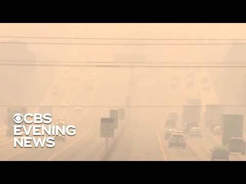 California's air now the dirtiest in the world