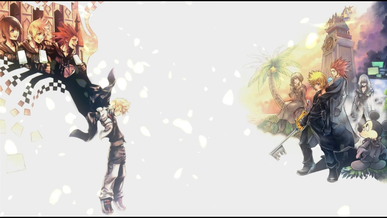 kingdom hearts 358 2 days wallpaper engine preview youtube