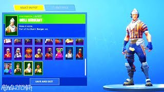 "NEW SKIN ""GRILL SERGANT"" WITH THE DANSE BOOGIE DOWN, INTENSITY, ...! Fortnite Battle Royale"