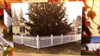 Vinyl Fences Spokane Wa - Vinyl Fencing Installer | (509) 928-8084