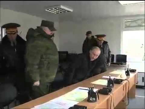 Putin watches Black Sea military exercises