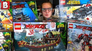 EPIC LEGO Haul!!! NINJAGO Movie, Justice League & Thor Ragnarok!!! They Are Here!