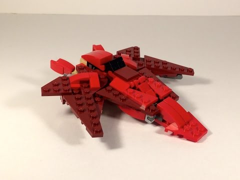 Lego Transformers by M1NDxBEND3R - 31032 Red Creatures Transformer!