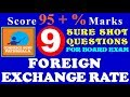 FOREIGN EXCHANGE RATE - DETERMINATION - CLASS 12 - ECONOMICS - CBSE