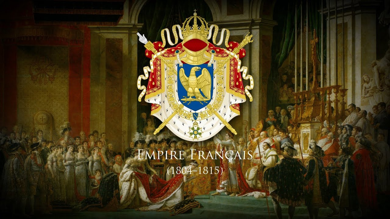 Kaiser Bonaparte Tapijt First French Empire 1804 1815 Music Of The Coronation Of Napoleon I